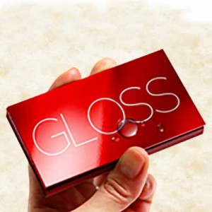 Glossy CS cards 16pt (PSC)
