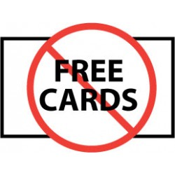 How free business card offer is misleading