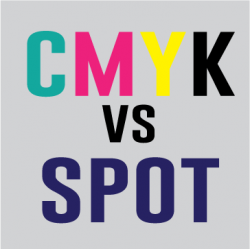 CMYK vs spot color printing