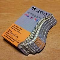 Custom Die-cut cards —PPC