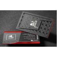 Silk cards with Raised SpotUV  (16pt) — PBC
